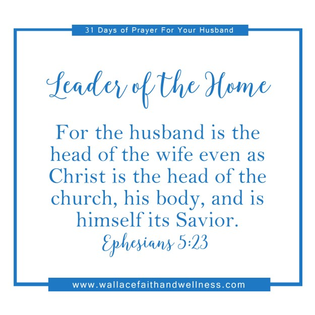 31 days of prayer for your husband   august 2016  DAY 01