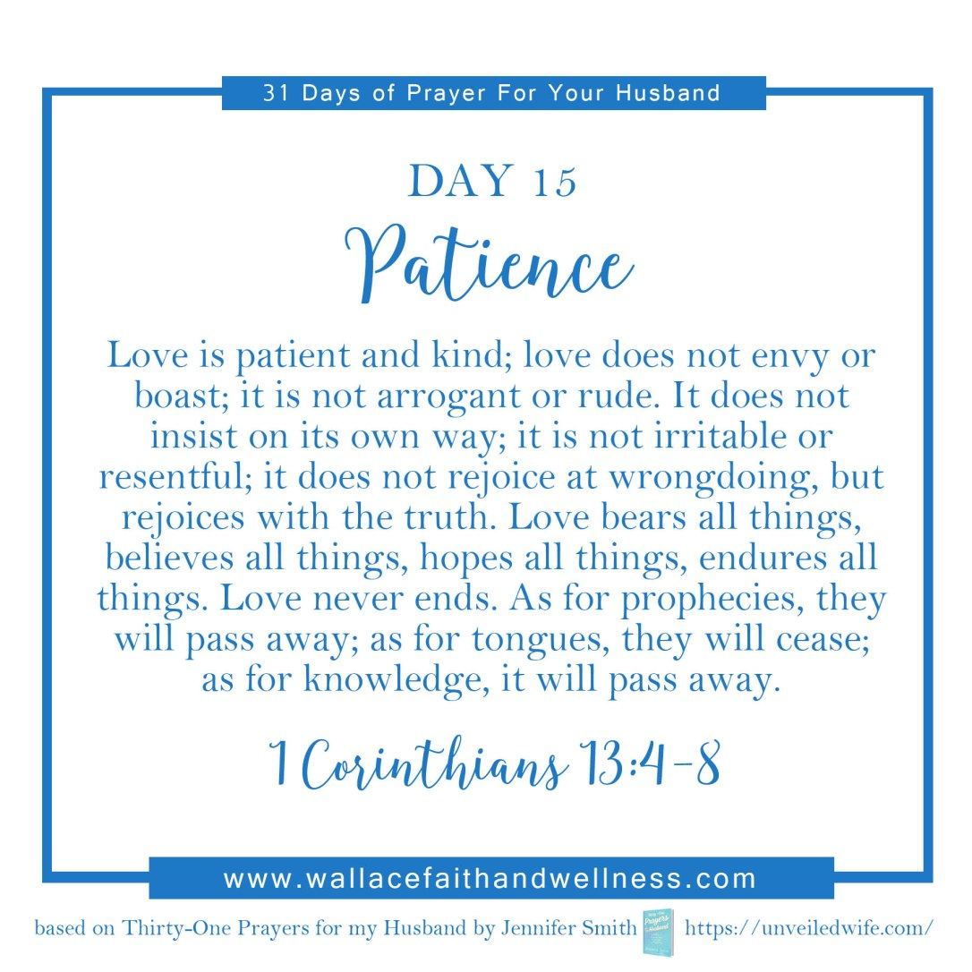 31 days of prayer for your husband   august 2016  DAY 15