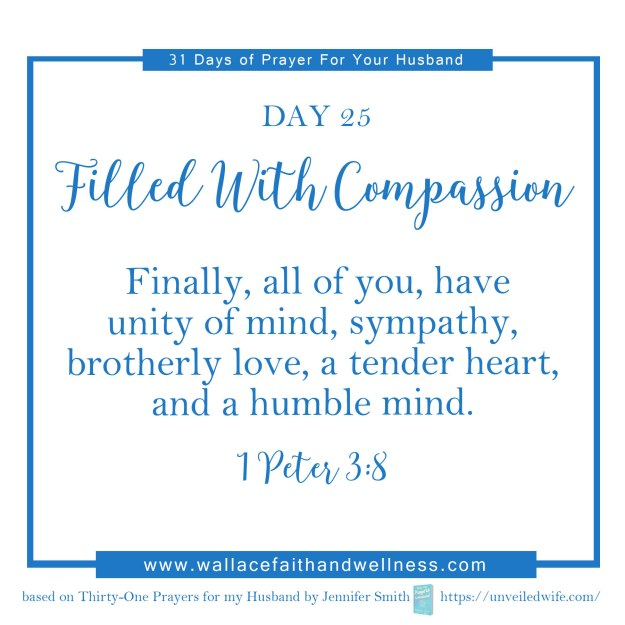 31 days of prayer for your husband   august 2016  DAY 25