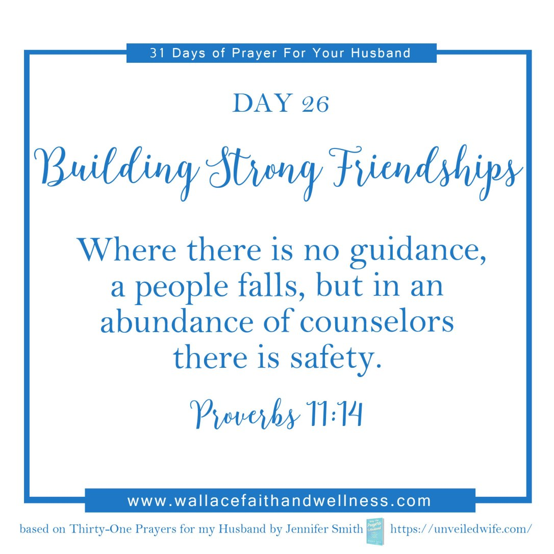31 days of prayer for your husband   august 2016  DAY 26