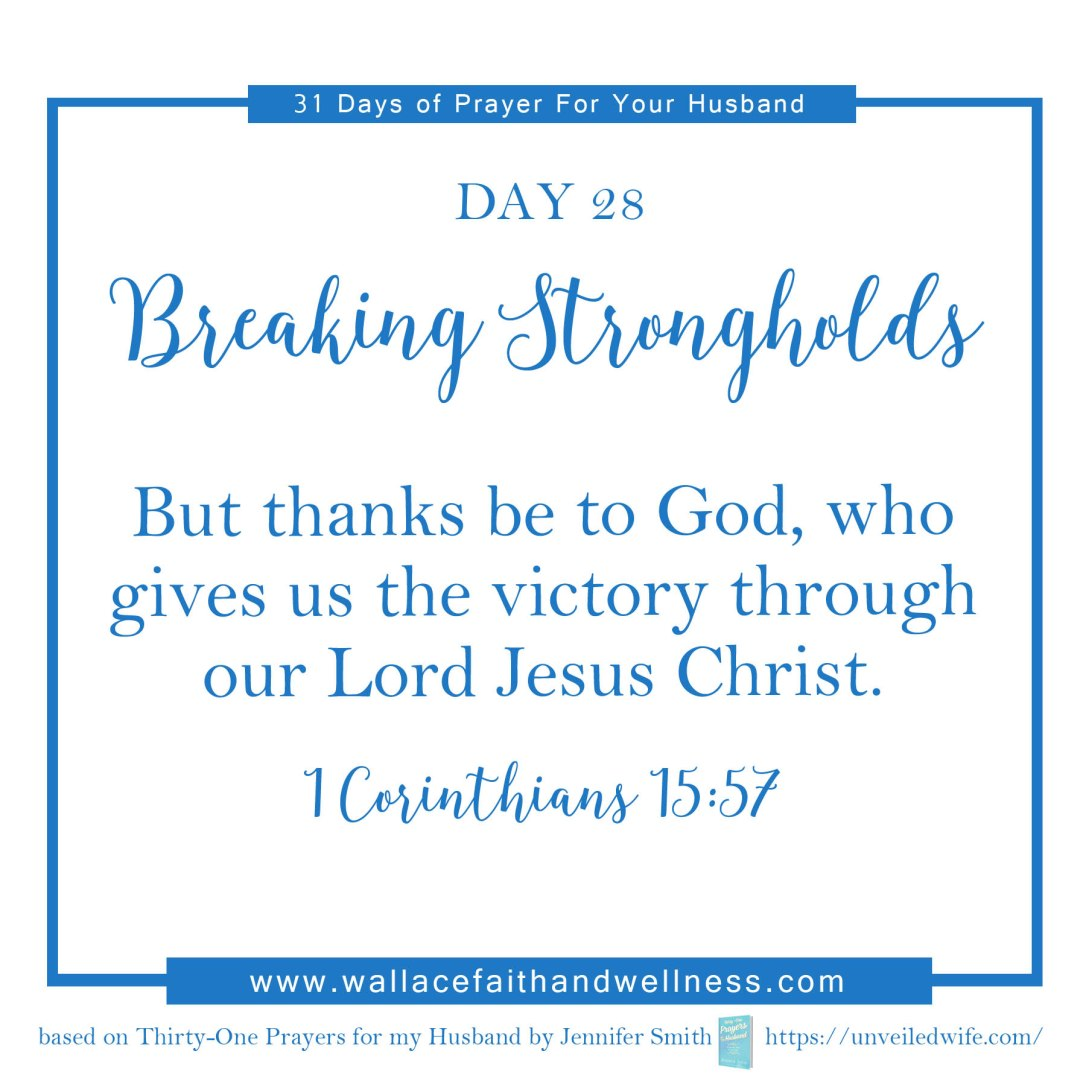 31 days of prayer for your husband   august 2016  DAY 28
