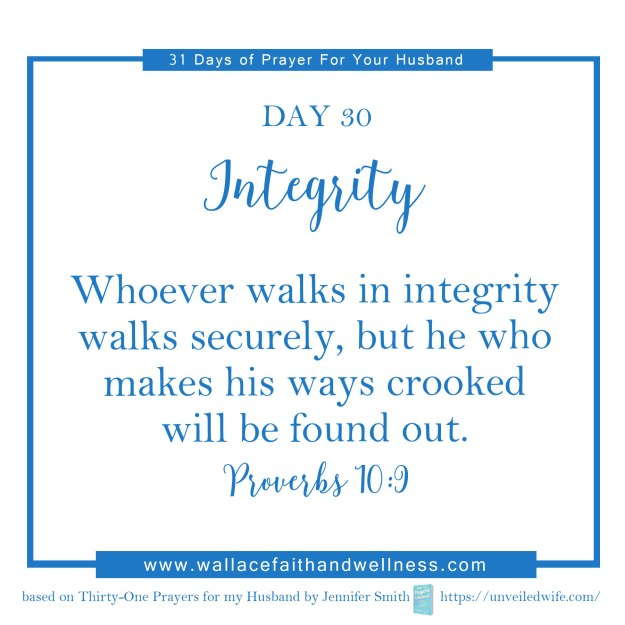 31 days of prayer for your husband   august 2016  DAY 30